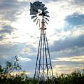 2017_08_midland Tx_windmill 2 by Brian Farmer