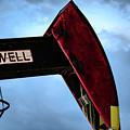 2017_09_midkiff Tx_oil Well Pump Jack Closeup 2 by Brian Farmer