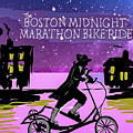 2018 Boston Marathon Midnight Ride by Francois Lamothe