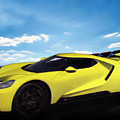 2018 Ford Gt At The Track by Chas Sinklier