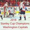 2018 Stanley Cup Champions Washington Capitals by Lisa Wooten