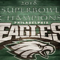 2018 Superbowl Eagles Barn Wall by Dan Sproul