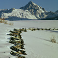 210603 Mt. Sneffels And Fence by Ed Cooper Photography