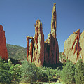 210806-h Spires In Garden Of The Gods by Ed Cooper Photography