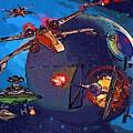 Galaxies Star Wars Poster by Larry Jones