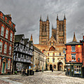 Lincoln England United Kingdom Uk by Paul James Bannerman