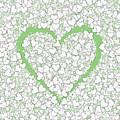 Love Heart Valentine Shape by Miroslav Nemecek