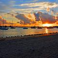 22- Sunset At Seagull Beach by Joseph Keane