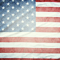 American Flag 37 by Les Cunliffe