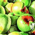 #227 Green Apples by William Lum