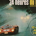 24 Hours Of Le Mans - 1971 by Georgia Fowler
