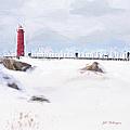 Michigan Winter by Jill Wellington