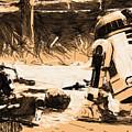 Saga Star Wars Poster by Larry Jones