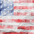 American Flag 14 by Les Cunliffe