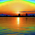 25- Psychedelic Sunrise by Joseph Keane