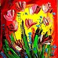 Tulips by Mark Kazav