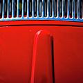 2674- Red Volkswagen  by David Lange