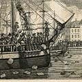 Boston Tea Party 1773 by Granger
