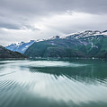 Glacier And Mountains Landscapes In Wild And Beautiful Alaska by Alex Grichenko