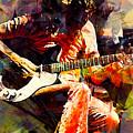 Jimmy Page. Led Zeppelin. by Elizabeth Simon