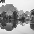 Yulong River Scenery by Carl Ning