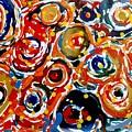 Jugglery Of Colors by Baljit Chadha