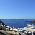 28 September 2016 White Houses By The Sea In Santorini, Greece  by Oana Unciuleanu
