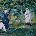 A Game Of Croquet by Edouard Manet