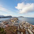 Aalesund City by Arild Lilleboe