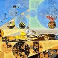 Abstract Painting - Brown Pod by Vitaliy Gladkiy