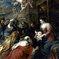 Adoration Of The Magi by Granger