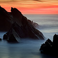 Adraga Beach In Sintra Natural Park by Andre Goncalves