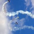 Aerostars Yak-50 Team by Angel  Tarantella