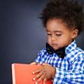 African Schoolboy Portrait by Anna Om