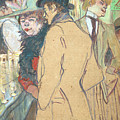 Alfred La Guigne by Henri De Toulouse-Lautrec