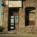 American Pool Hall  Version 2 Facade Ghost Town Jerome Arizona 1968 by David Lee Guss