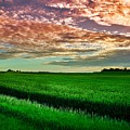 An Iowa Sunset by Mountain Dreams