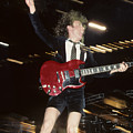 Angus Young by Rich Fuscia