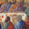 Appearance Of Christ To The Apostles Fragment 1311  by Duccio
