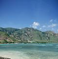 Areia Branca Tropical Beach View Near Dili In East Timor by Jacek Malipan