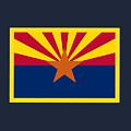 Arizona Flag by Frederick Holiday