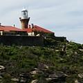 Australia - Barrenjoey Lighthouse On Solid Rock by Jeffrey Shaw