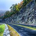 Autumn Colors In The Blue Ridge Mountains by Alex Grichenko