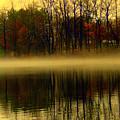 Autumn Lake by Aron Chervin