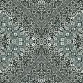 Aztec Navajo Pattern Background by Nenad Cerovic