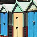 Beach Huts by Paul Stevens