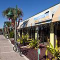 Beachland Boulevard At Vero Beach In Florida by Allan  Hughes
