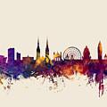 Belfast Northern Ireland Skyline by Michael Tompsett