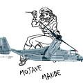 Bell Boeing Cv-22b Osprey Mojave Maude by Arthur Eggers