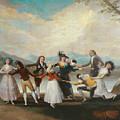 Blind Man's Buff by Francisco Goya